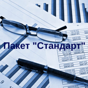 Стандартный пакет бухгалтерских услуг